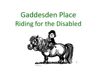 Gaddesden Place RDA Logo