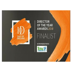 Director of The Year Awards 2018 - Finalist - IoD East of England