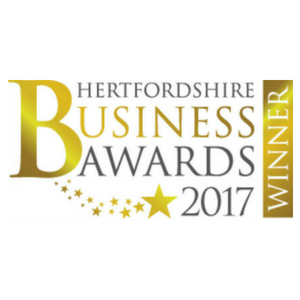 Lumina Technologies won Hertfordshire business awards 2017 as Commercial Business in the Community